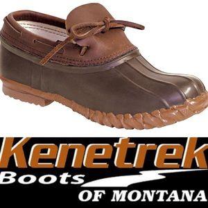 Kenetrek Brown Duck Shoe Waterproof Slip on  8 Men